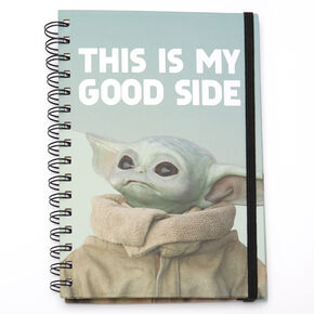 Star Wars™: The Mandalorian This Is My Good Side Notebook – Green,