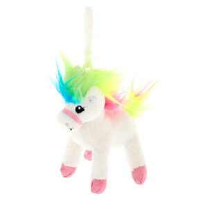 c18aebc2f Claire's Club Starbright the Magical Unicorn Keyring Clip