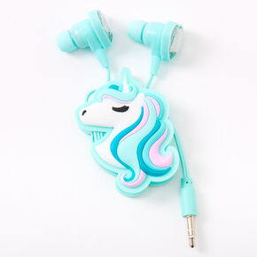 Unicorn Hearts Earbuds & Winder Set,