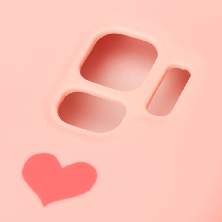 Pink Heart Phone Case - Fits Samsung Galaxy S9,
