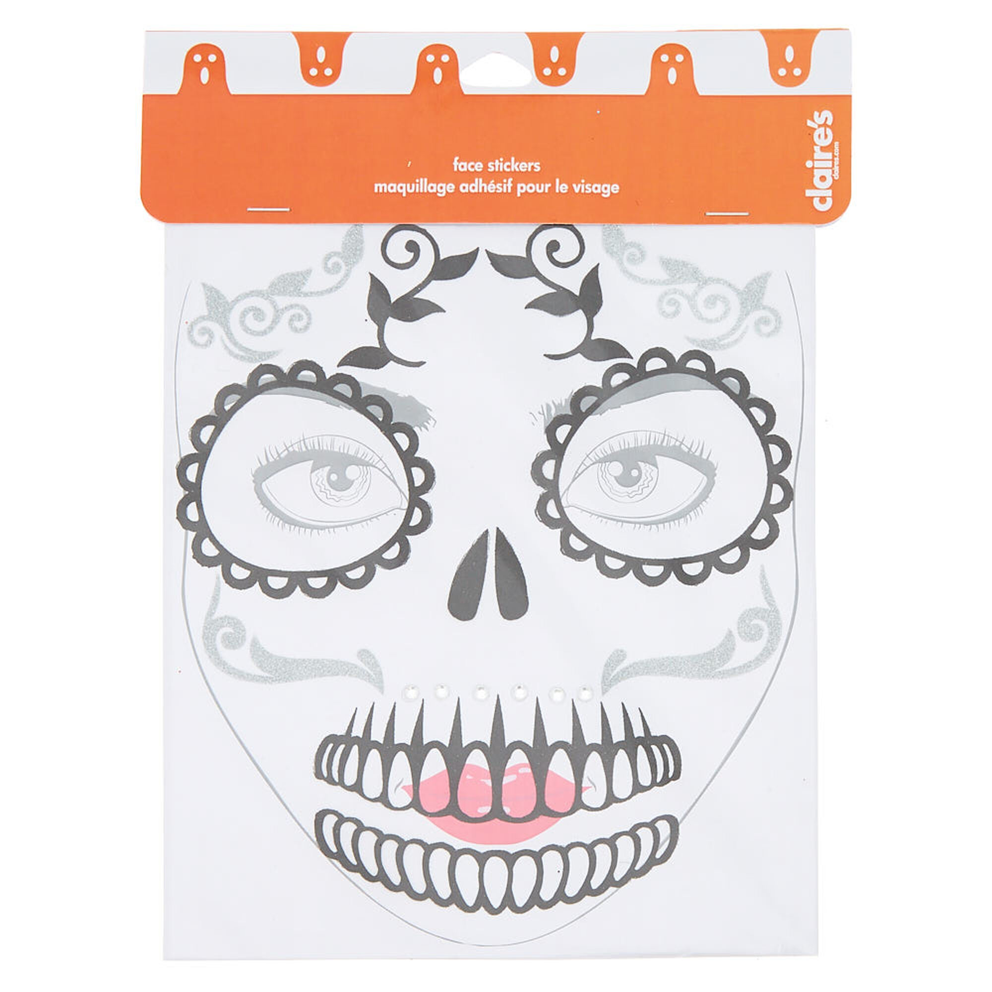 spooky skeleton halloween accessories set | claire's
