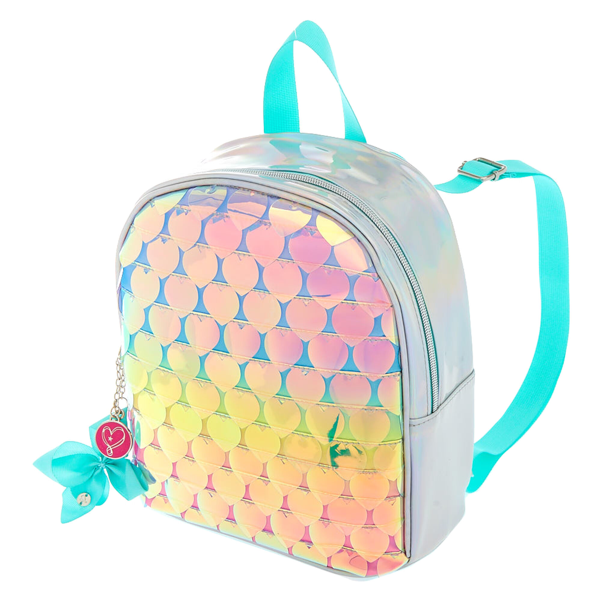 JoJo Siwa™ Rainbow Hearts Mini Backpack - Green  975d6b542d