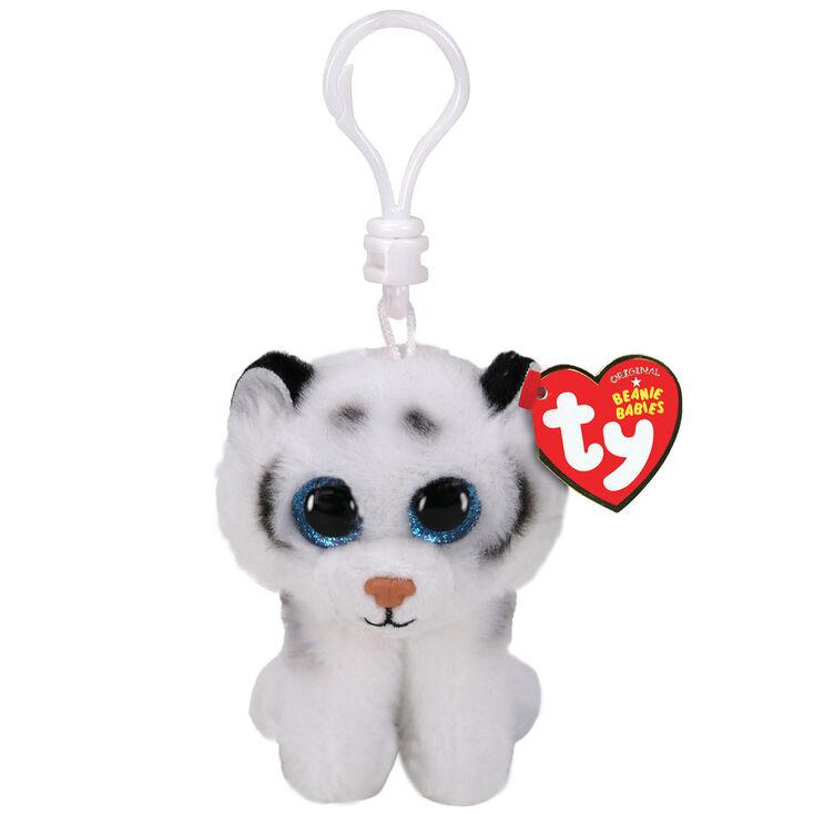 Ty® Beanie Boo Tundra the Tiger Keyring Clip,
