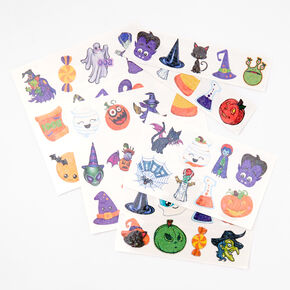 Glitter Ghoul Temporary Tattoos - 50 Pack,