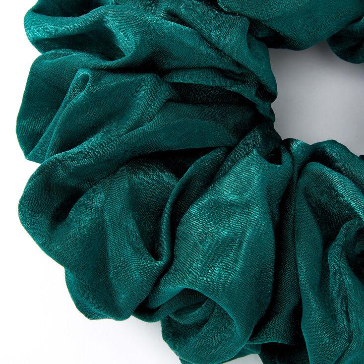 Giant Hair Scrunchie - Emerald,