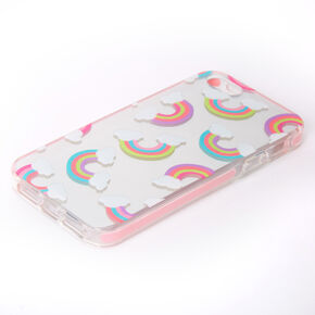 Silver Mirrored Rainbow Phone Case - Fits iPhone 5/5S,