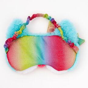 Plush Corgi Sleeping Mask - Blue,