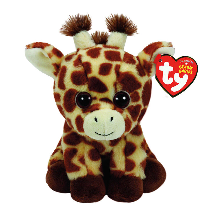 ty beanie baby small peaches the giraffe plush toy claire 39 s us. Black Bedroom Furniture Sets. Home Design Ideas