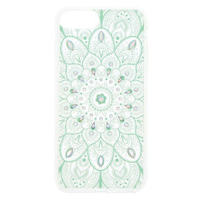 Iridescent Stone Mandala Phone Case - Fits iPhone 5/5S,