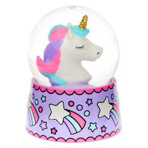 Miss Glitter the Unicorn Snowglobe,