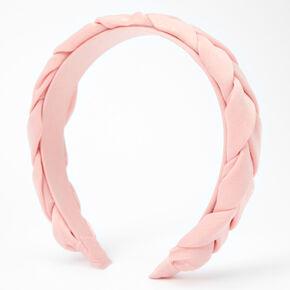 Braided Headband - Blush Pink,