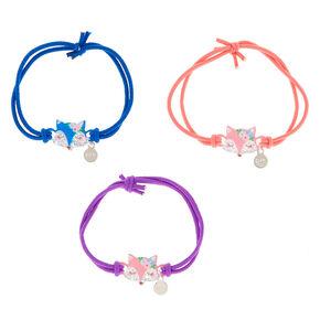 8e1cc174e Floral Fox Stretch Friendship Bracelets - 3 Pack