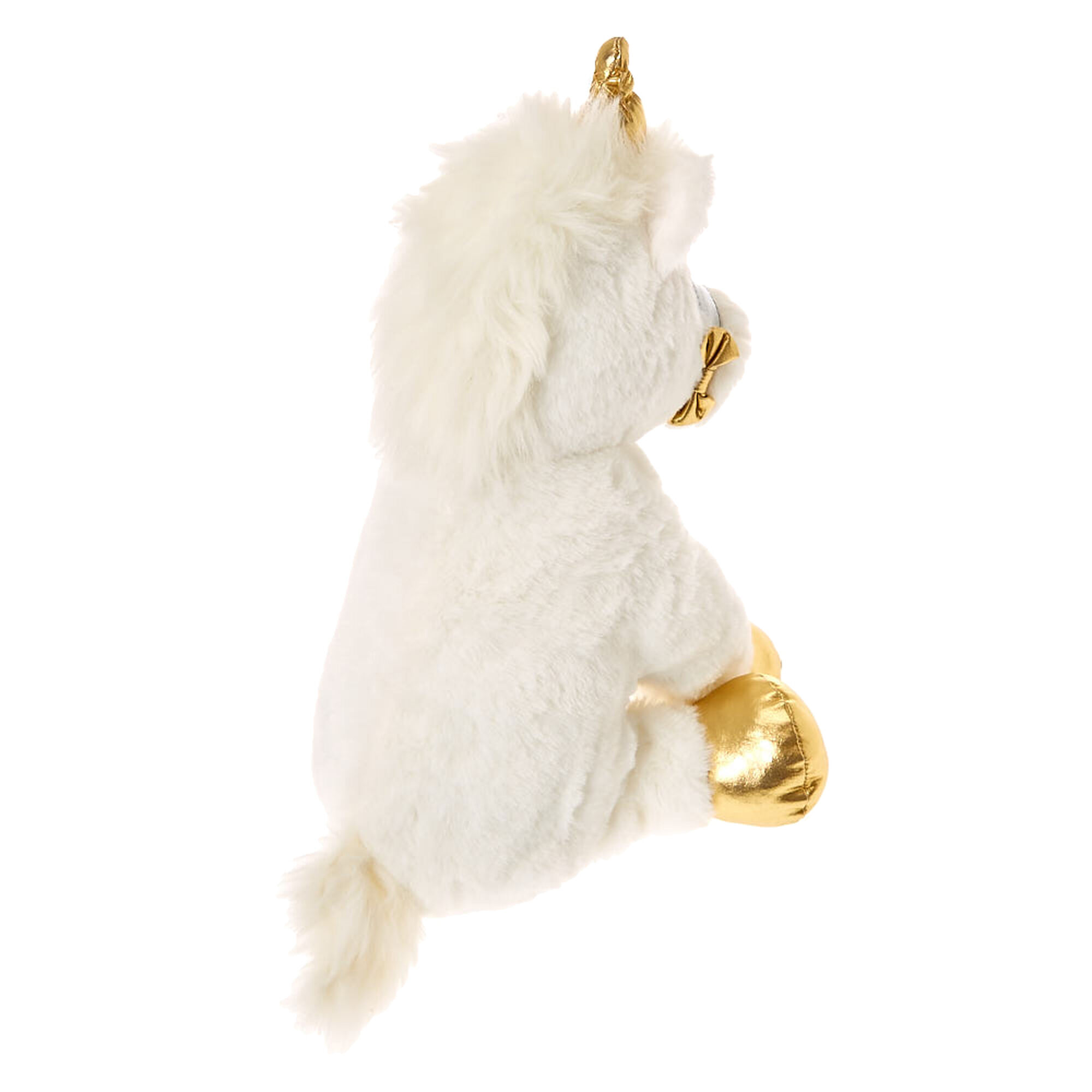 peluche licorne ariella de taille moyenne pour enfant claire 39 s fr. Black Bedroom Furniture Sets. Home Design Ideas
