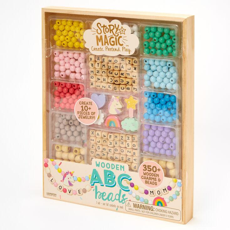 Story Magic™ Wooden ABC Beads Set,