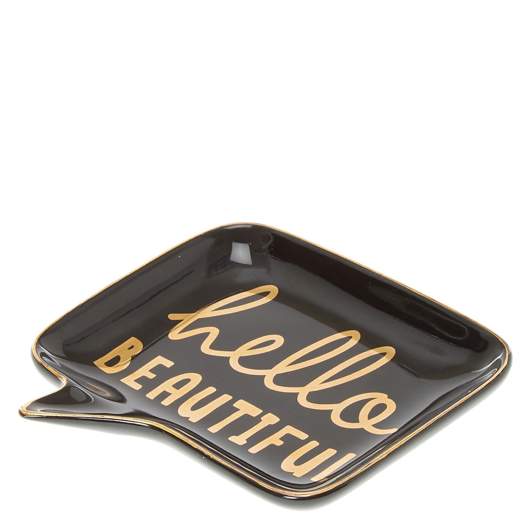 Hello Beautiful Jewelry Dish | Claire\'s US
