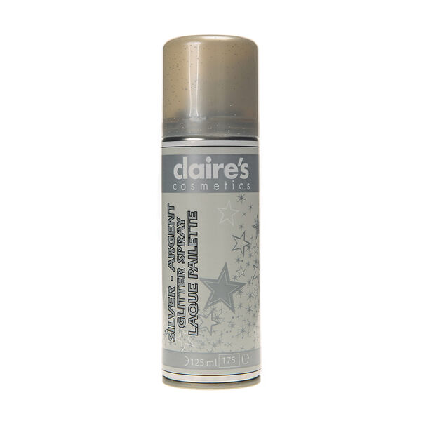 Claire's - glitter hair spray - 1