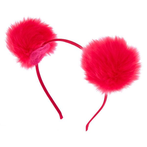 Claire's - bright pom headband - 1