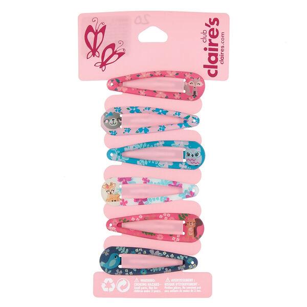 Claire's - club animal snap hair clips - 1