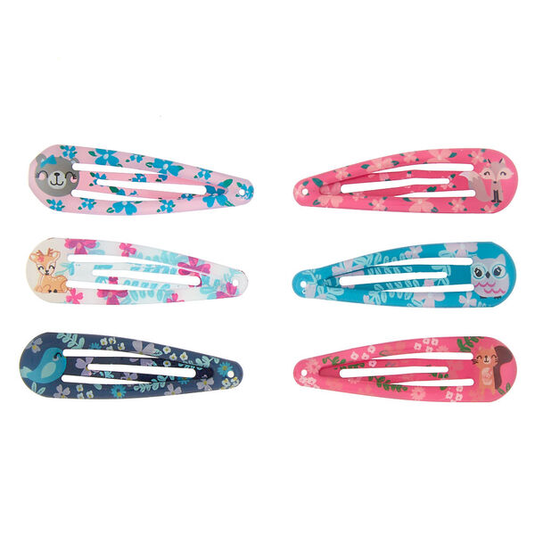 Claire's - club animal snap hair clips - 2