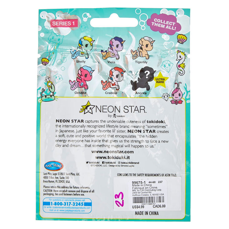 Viola Neon Star By Tokidoki Series 1 Blind BAG Mermicorno Vinyl Figure A6