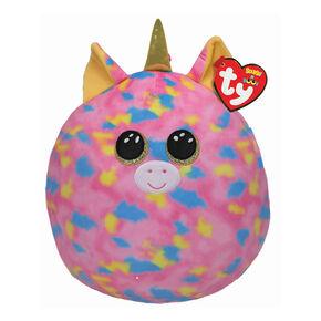 Ty® Squish-A-Boo Fantasia the Rainbow Unicorn Soft Toy,