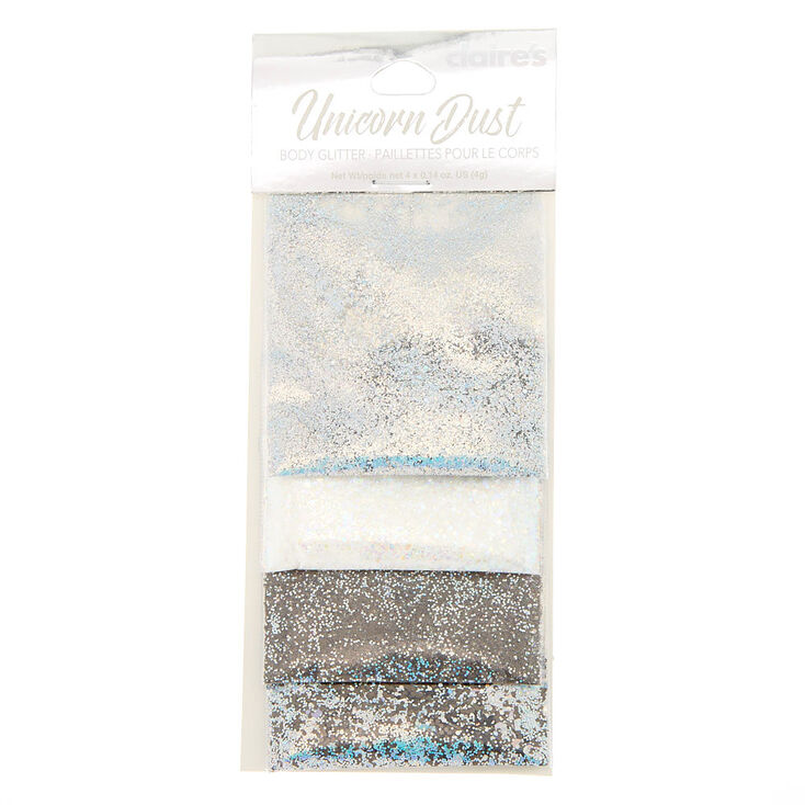 Neutral Unicorn Dust Body Glitter - 4 Pack,