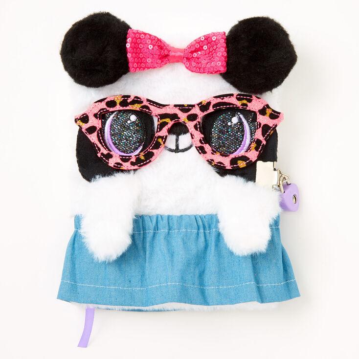 Leopard Glasses & Skirt Dress Your Diary Set - 3 Pack,