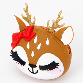 Ginger the Deer Jelly Coin Purse - Brown,