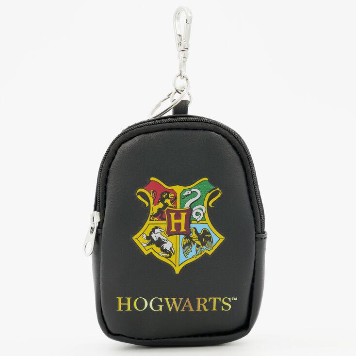 Porte-clés mini sac à dos Poudlard Harry Potter™ - Noir,
