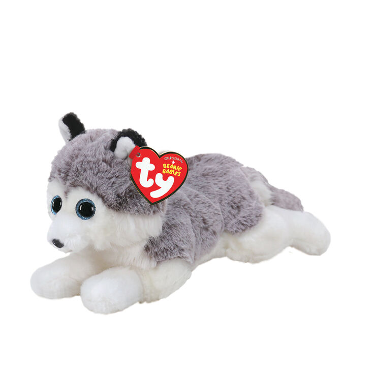 Ty Beanie Baby Small Baltic the Husky Soft Toy,