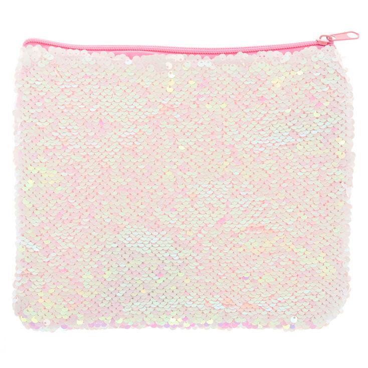 Reversible Sequin Makeup Bag,