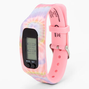 Tie Dye Active LED Watch,