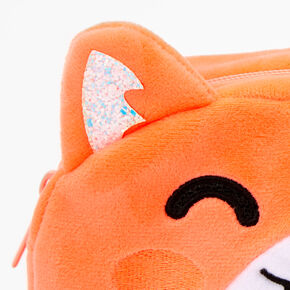 Hamster Plush Pouch - Orange,
