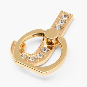 Gem Initial Ring Stand - J,