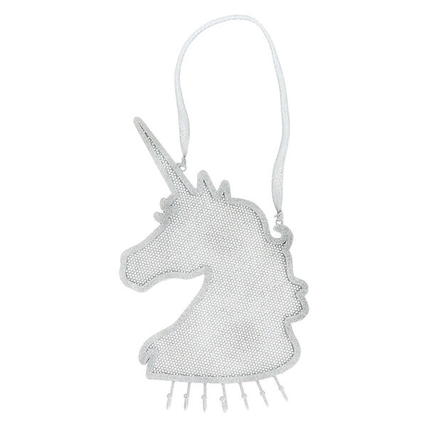 Claire's - glitter hanging unicorn jewelry holder - 1