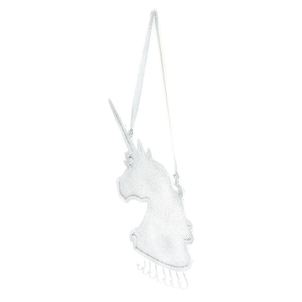 Claire's - glitter hanging unicorn jewelry holder - 2
