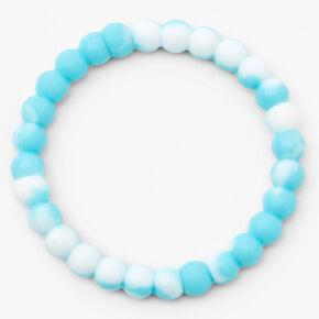 Focus Marble Fortune Stretch Bracelet - Blue,