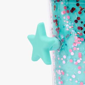 Confetti Star Shaker Tumbler- Mint,