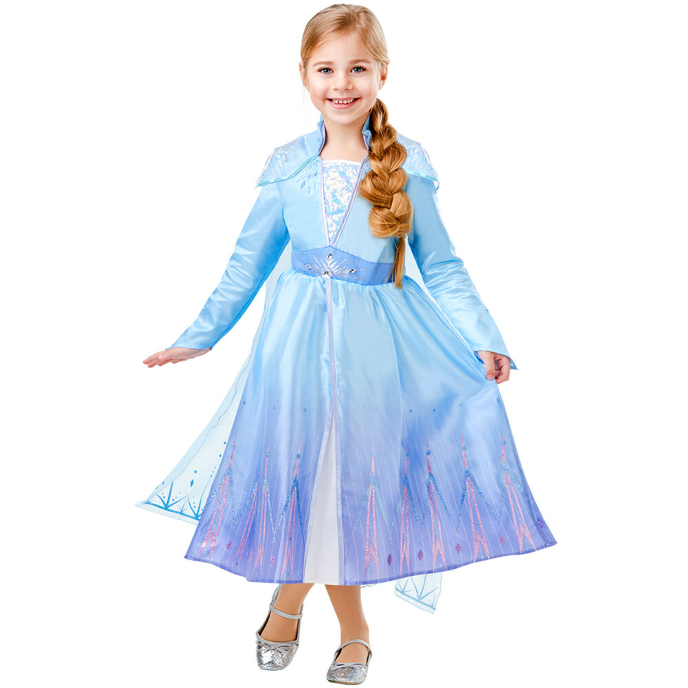 Costume Elsa La Reine des Neiges 2 ©Disney , Bleu