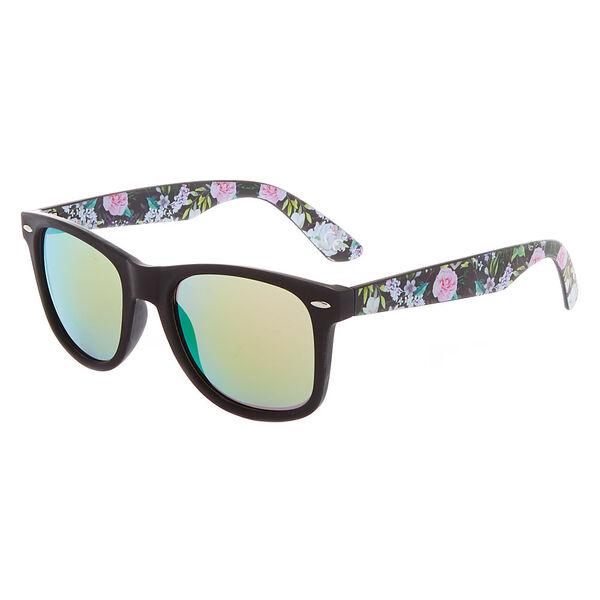 Claire's - floral retro sunglasses - 1