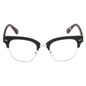 f04a8f352d6 Leopard Browline Frames - Black