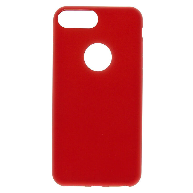 competitive price 746ca bab2d Matte Red Logo Cut Out Phone Case - Fits iPhone 6/7/8 Plus