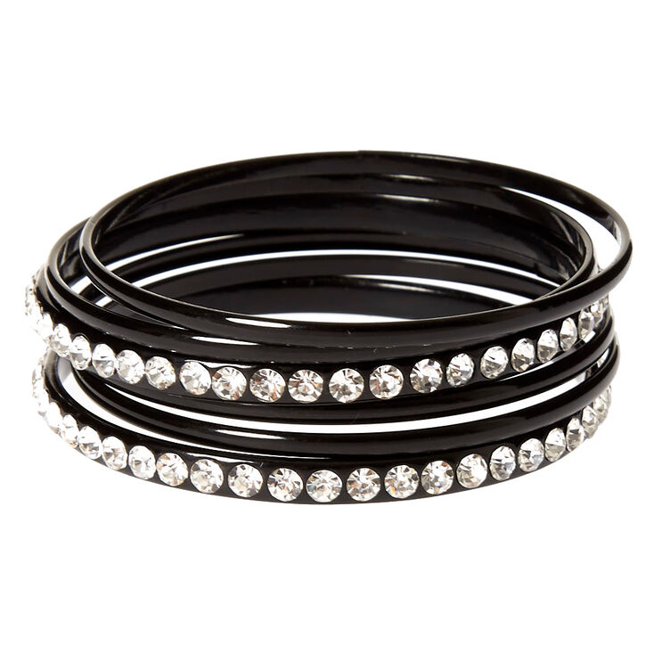 antiqued inches plated bangle design silver bangles jb circle channel bracelets black bracelet nunn with