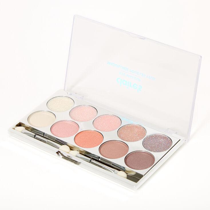 Pink Neutrals Glitz Glitter & Shimmer Eyeshadow Palette,