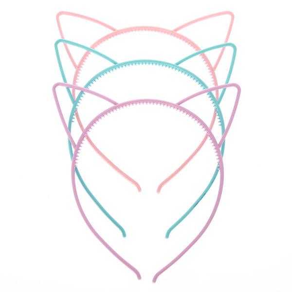 Claire's - club pastel cat ears headbands - 2