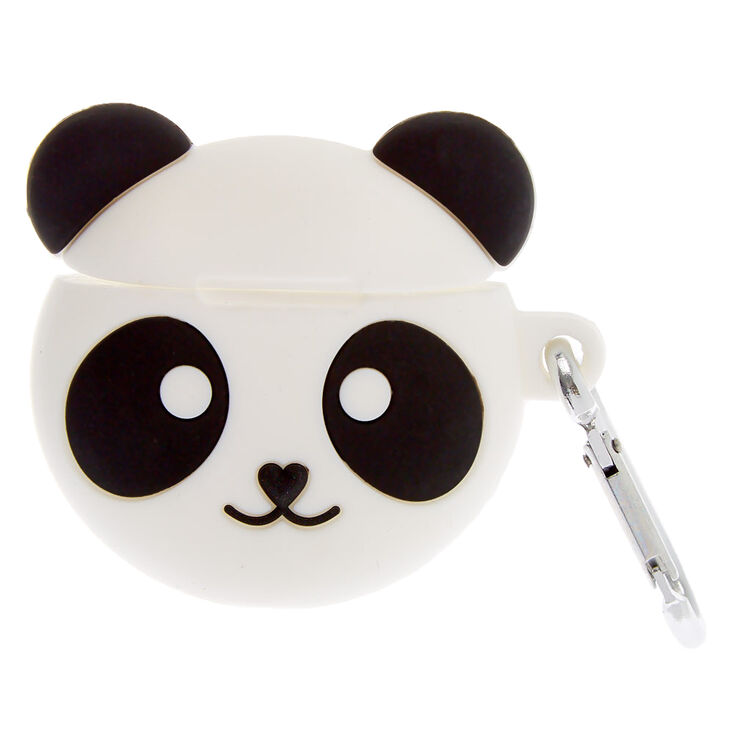 Panda Silicone Earbud Case Cover - Compatible With Apple AirPods,