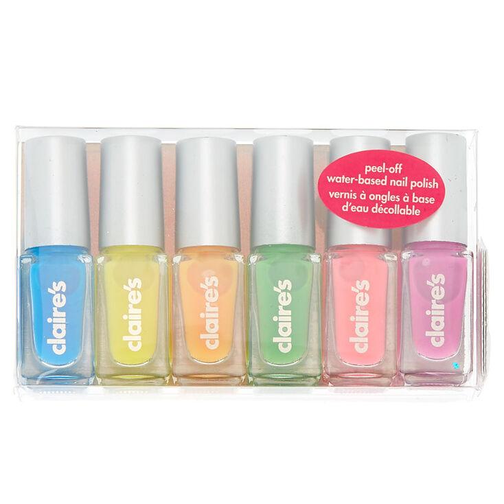 Rainbow Nail Polish Set - 6 Pack | Claire's US