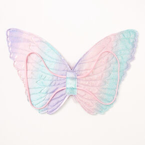 Claire's Club Pastel Rainbow Butterfly Dress Up Set - 2 Pack,