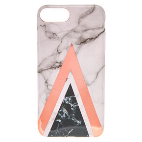 Rose Gold Geometric Marble Phone Case - Fits iPhone 5/5S,
