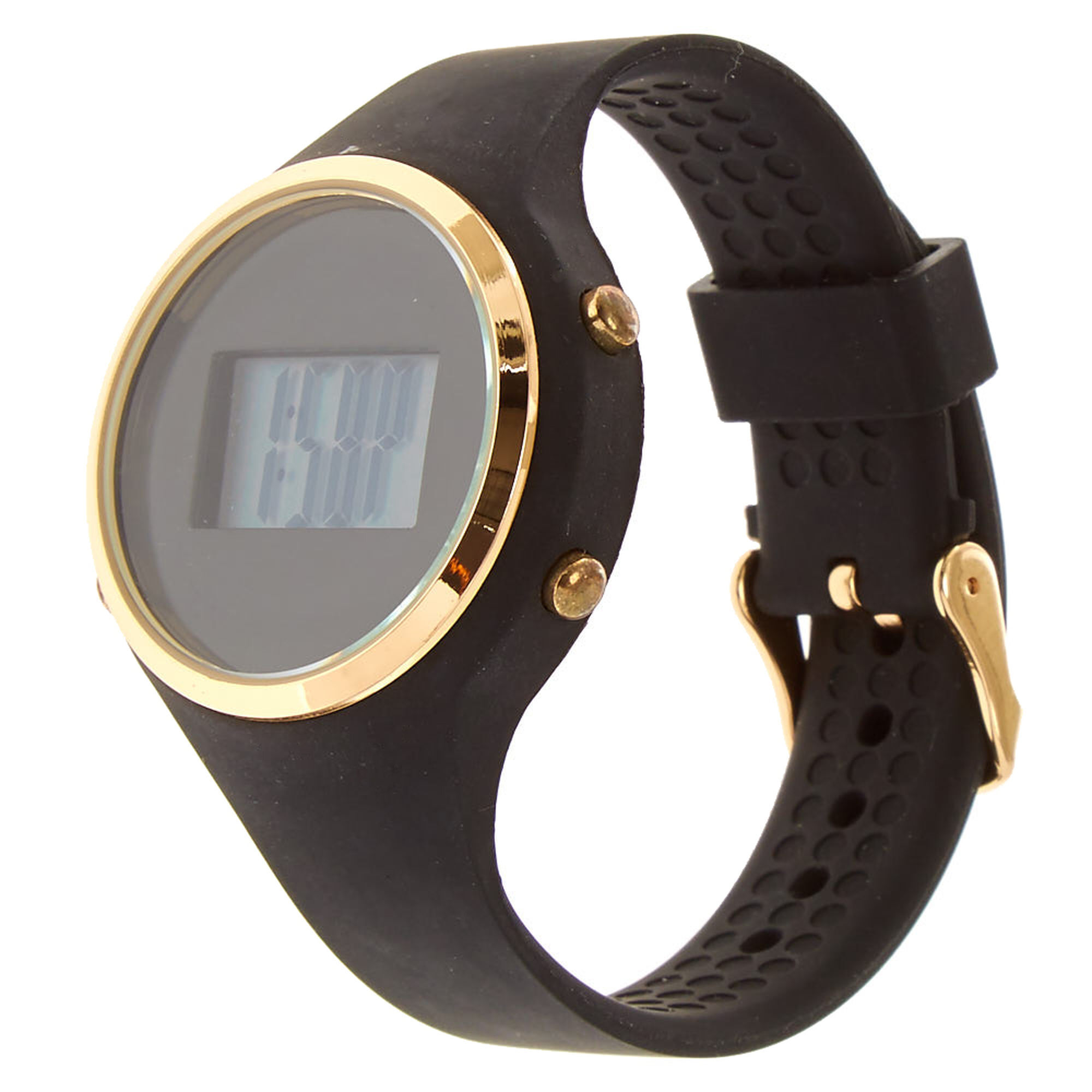 addic classy watch img silicone watches trendy through see for women analog